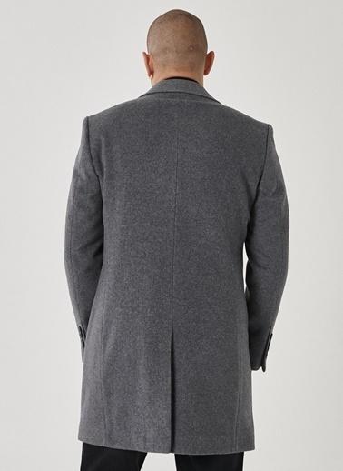 Beymen Business Standart Fit Düz Palto 4B0521100010 Antrasit
